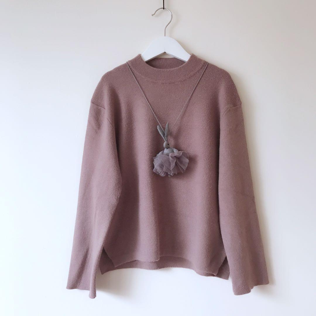Girls knit jumper size 8