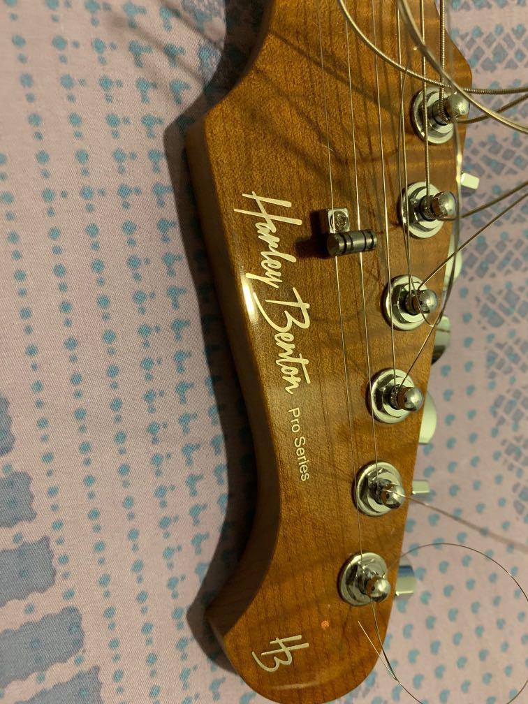 Harley Benton fusion pro series HSH, Music & Media, Music