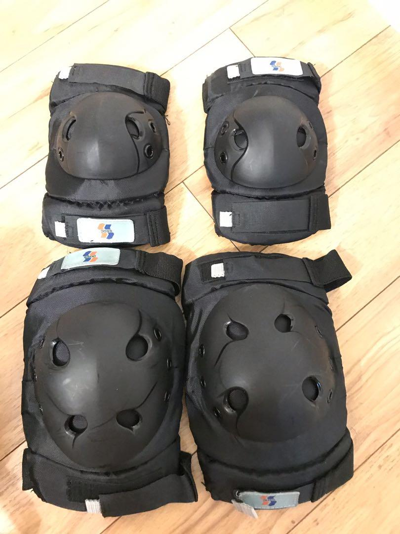 Helmet and Knee And Elbow Guard