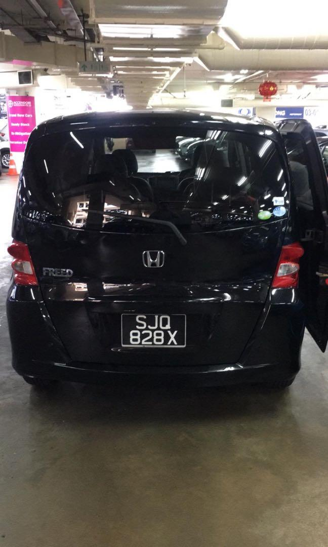 HONDA FREED GRAB RENTAL HONDA FRED PERSONAL RENTAL HONDA FRED RENTAL HONDA FRED 1.5A