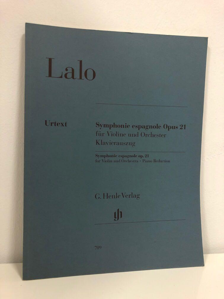 Lalo: Symphonie espagnole Op. 21