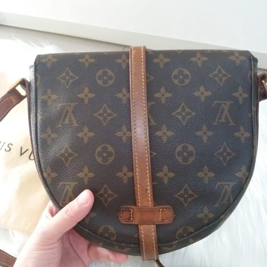 Louis Vuitton Chantilly MM Vintage th 1994 Authentic with serial number Like New & Complete sett yaaa sumpah cakep bgt ♥️♥️