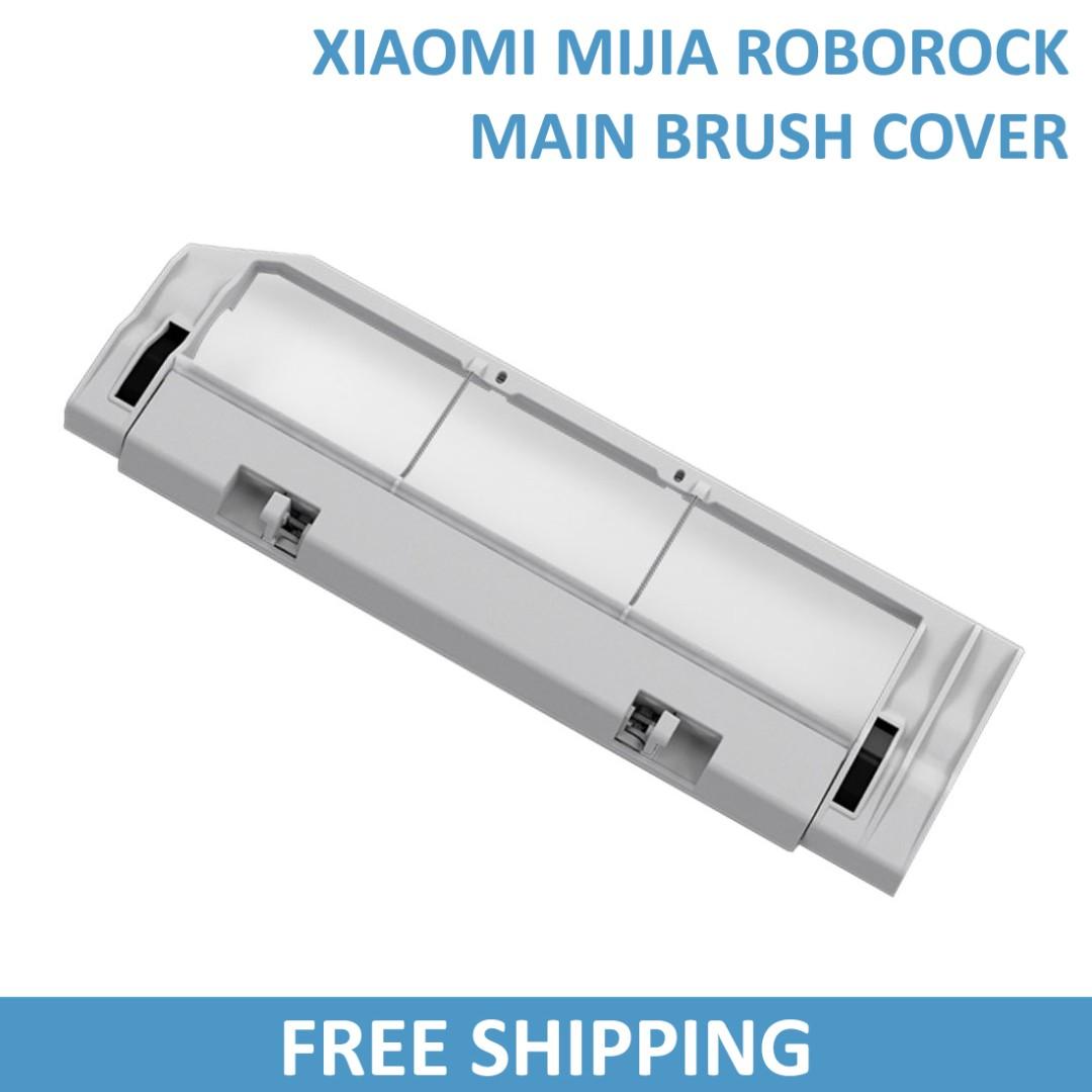 Main Brush Cover for Xiaomi MiJia Roborock Robot Vacuum Cleaner / Roborock  S5 / Roborock S50 / Roborock S51 / Roborock S55 / Generation 1 / Generation