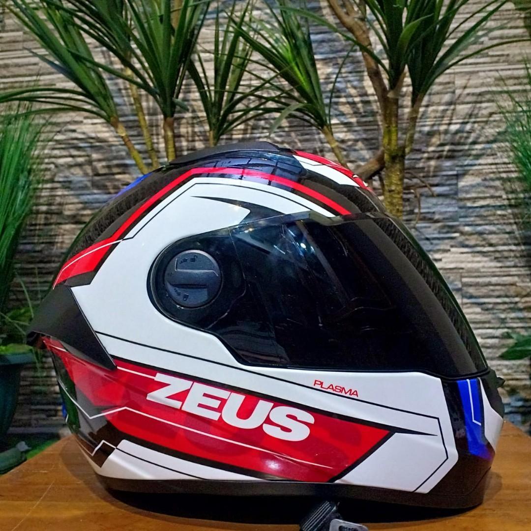 #maugopay Helm Zeus zs 811 plasma