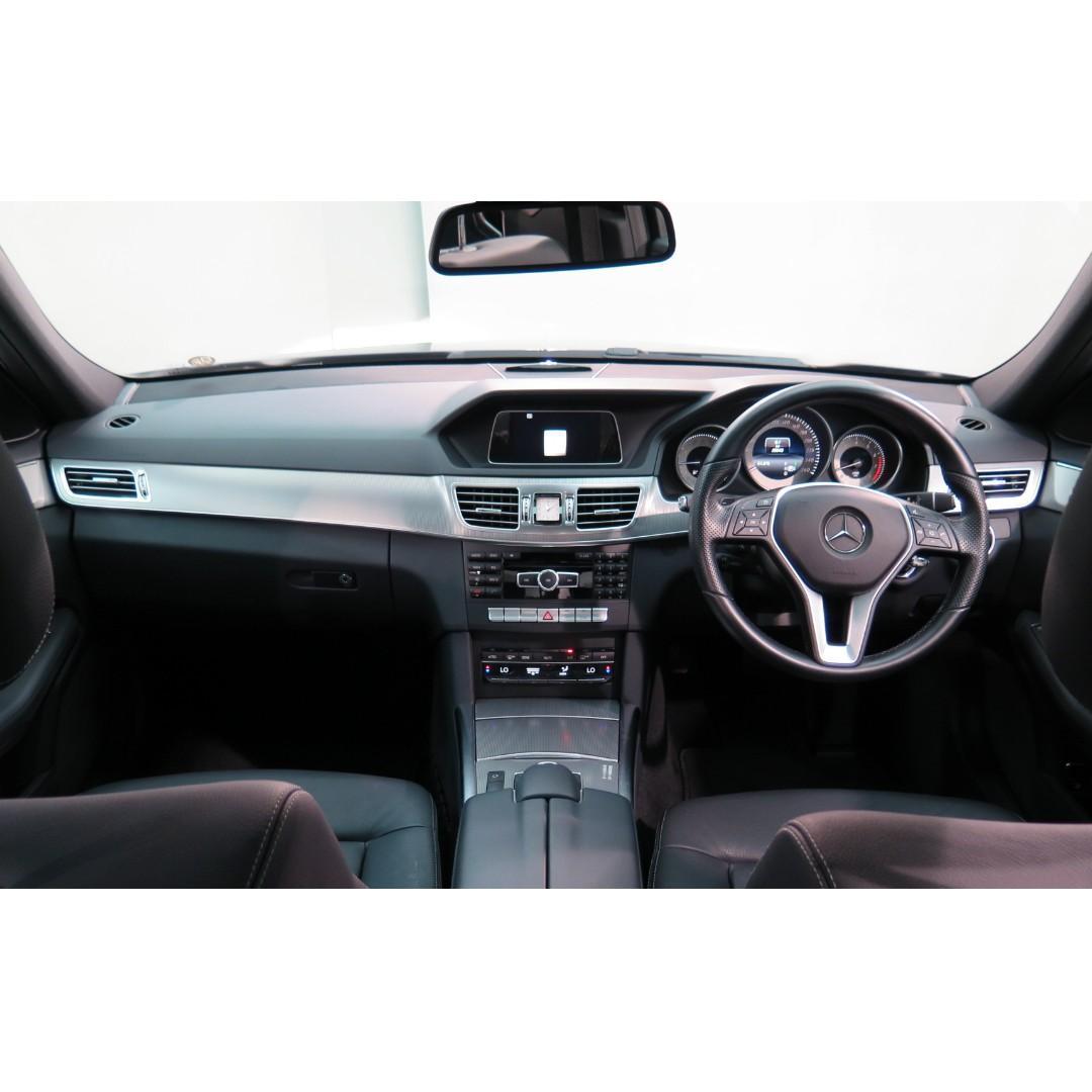 MERCEDES-BENZ E200 Avantgarde Facelift 2014'
