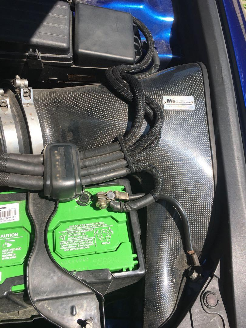M's (gruppe m) carbon intake for honda accord euro r / cl7r