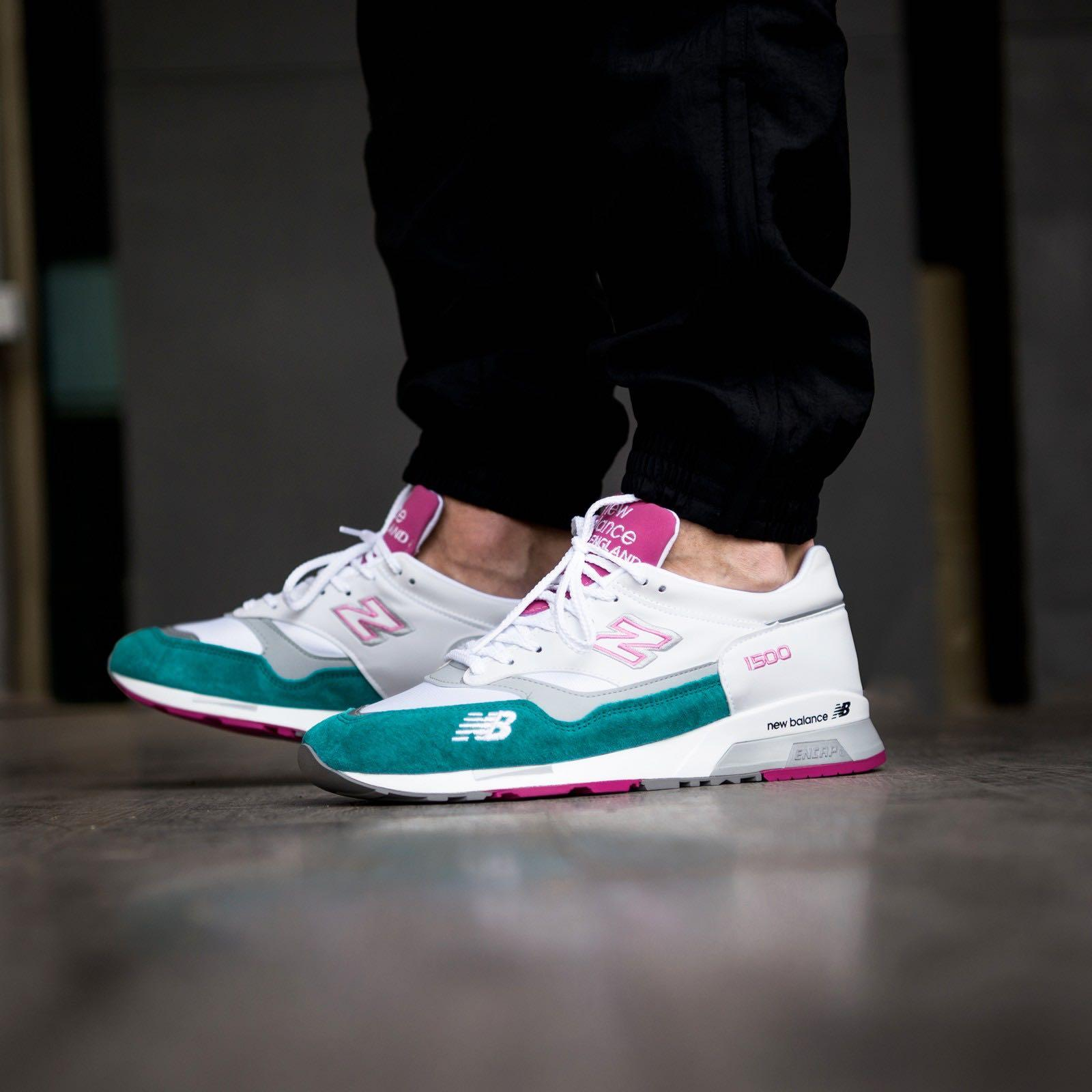official photos 80506 707fd New Balance M1500 Made in UK M1500WTP White pink, Men's ...