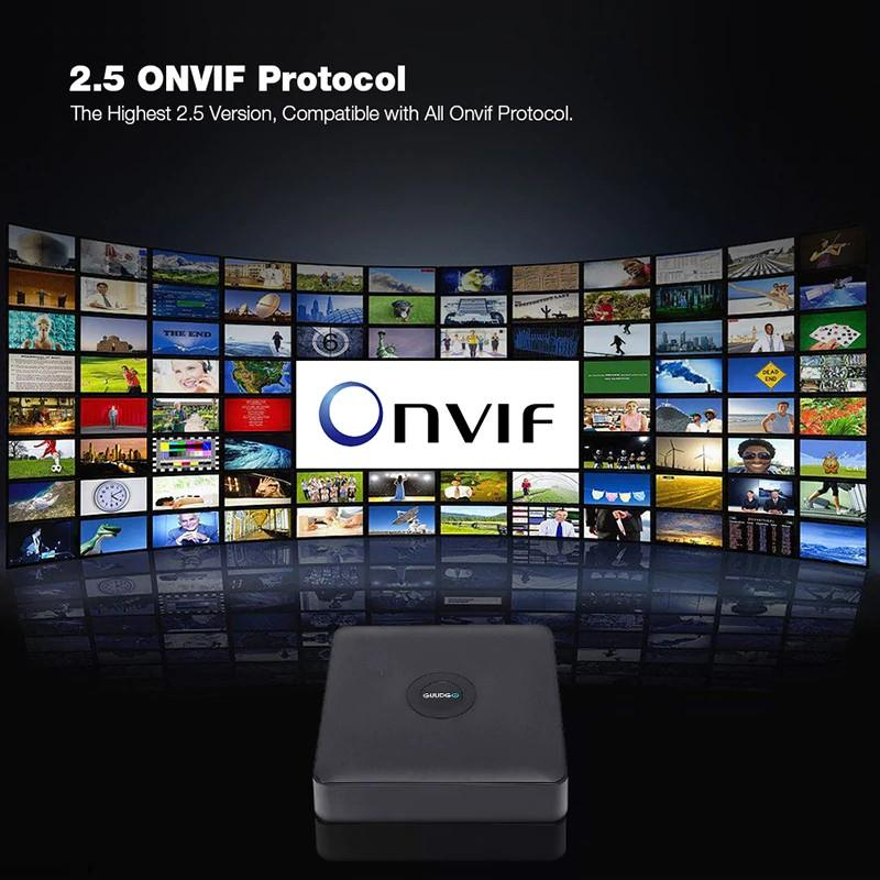 GUUDGO GD-NR01 1080P 4 8 12CH Wireless 2 5 ONVIF Network