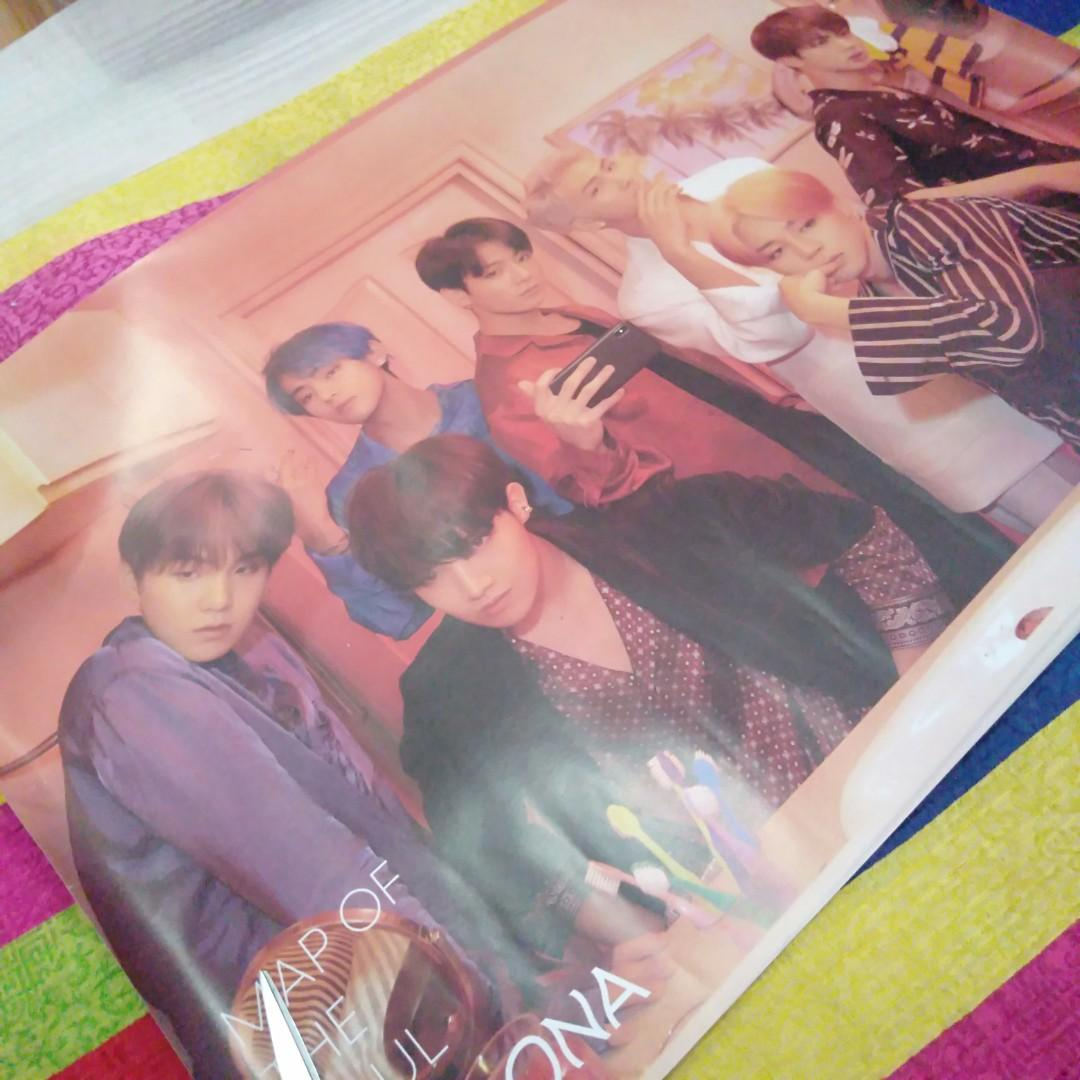 Official BTS-Map of The Soul:Persona Poster ver. 1