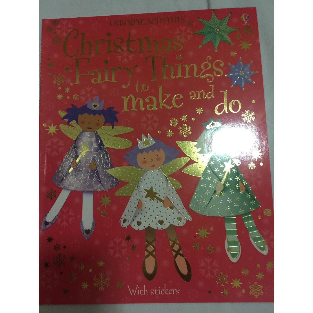 Osborne Activities Book 1: Things to make and do for Christmas Book 2: Christmas Fairy Things to make and do