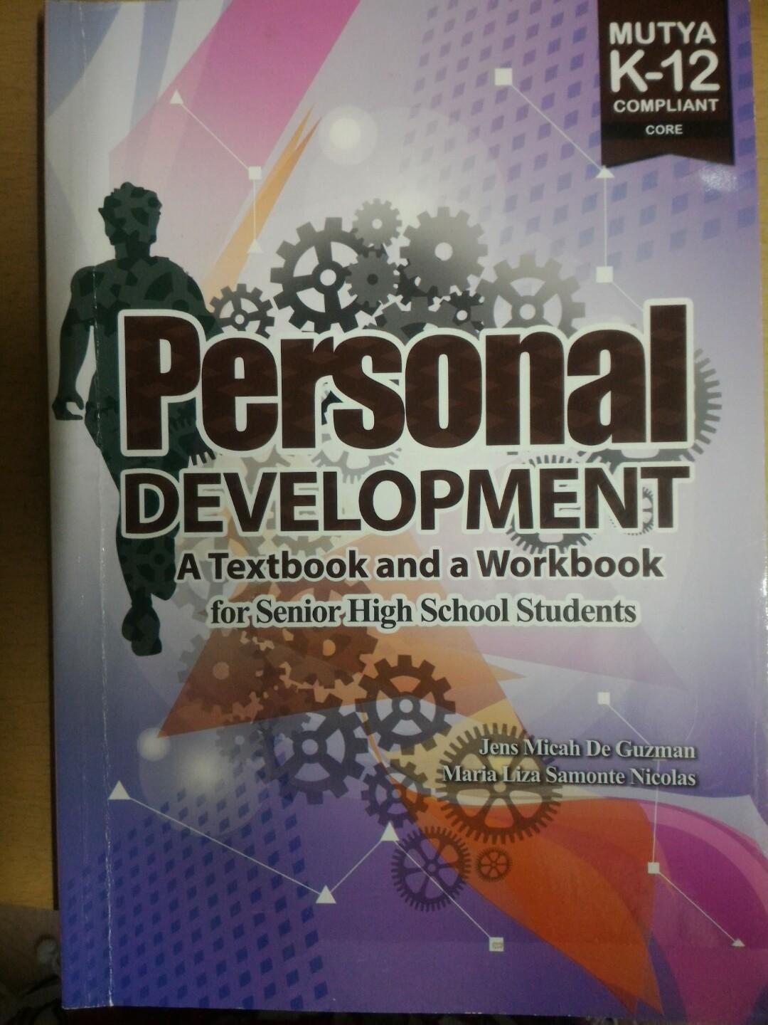 Personal Development (A Textbook and A Workbook for Senior High School Students)