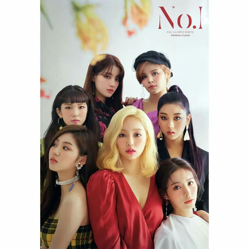 Poster CLC 8th Mini Album NO.1 & Poster PENTAGON 7th Mini Album Thumbs Up #maugopay