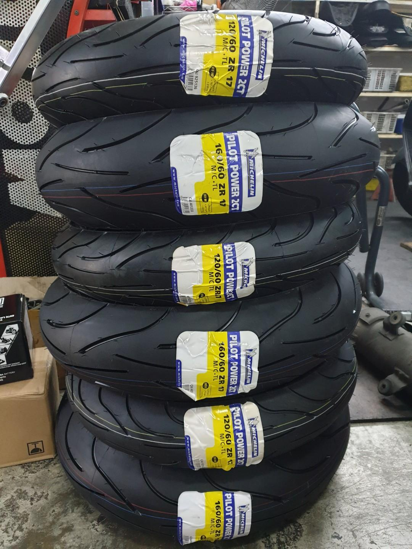 [PROMO] Michelin 120/60 & 160/60