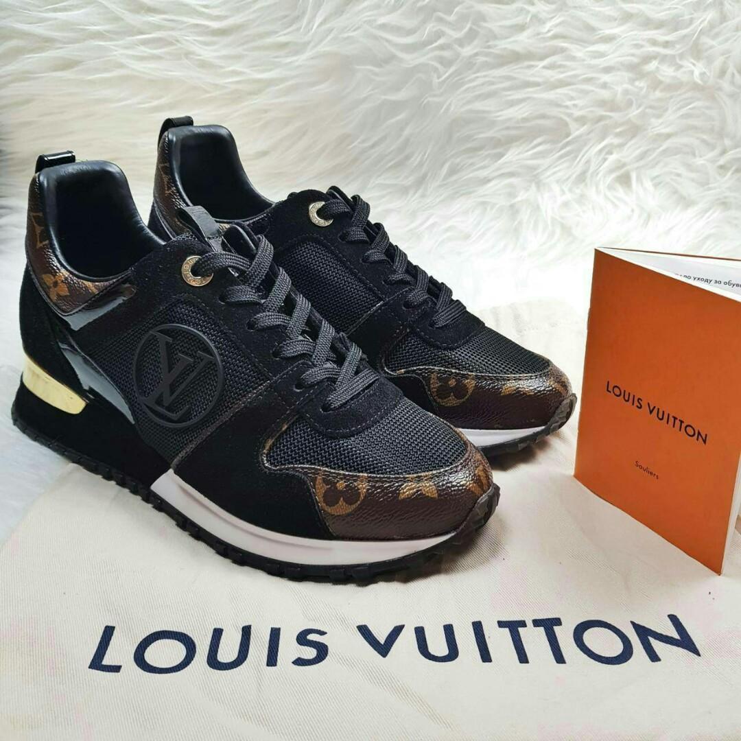 Ready LV sneaker runway monogram black  Size 37, 38 (running big) 12.850.000