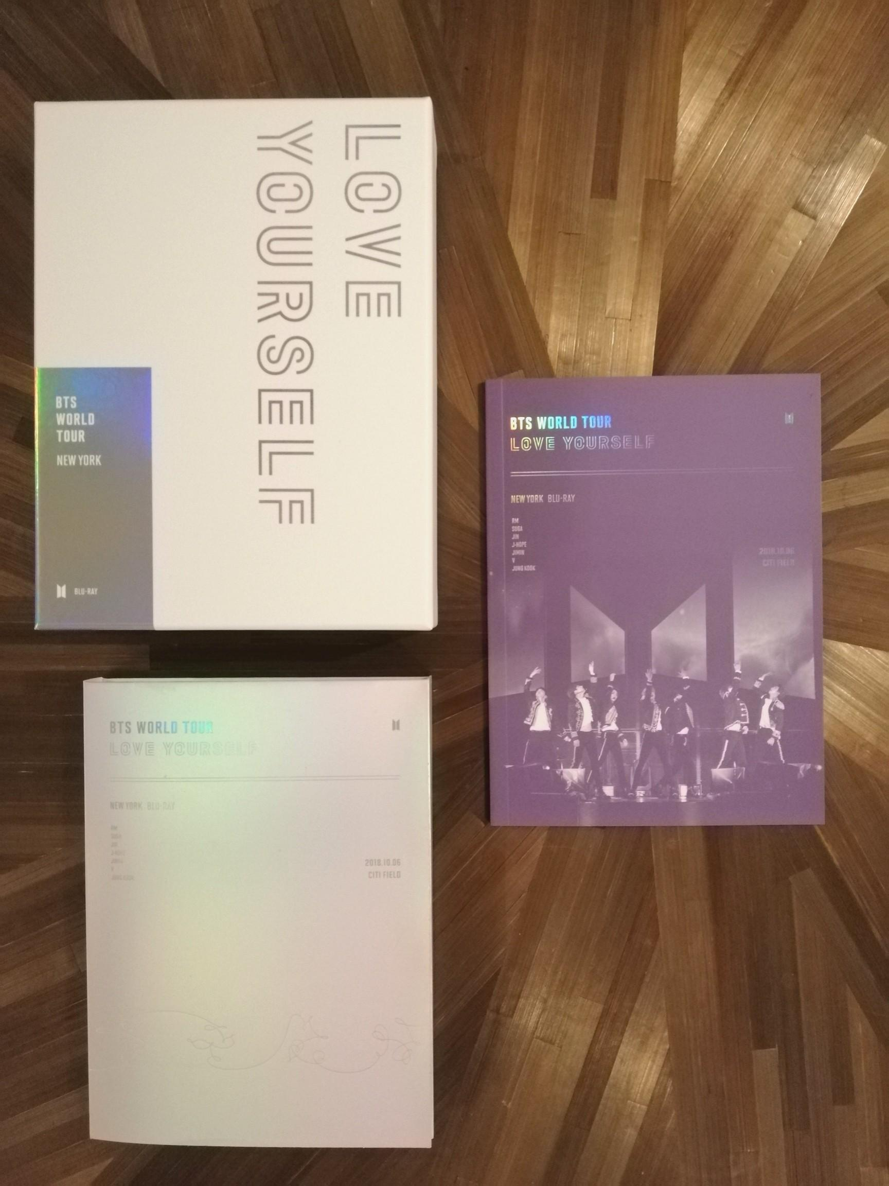 [READYSTOCK + NO PC] BTS LOVE YOURSELF TOUR IN NEW YORK BLU RAY