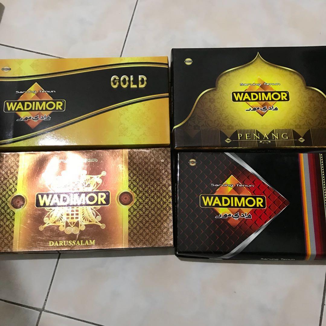 Sarung Wadimor Gold Penang Darussalam Tenun