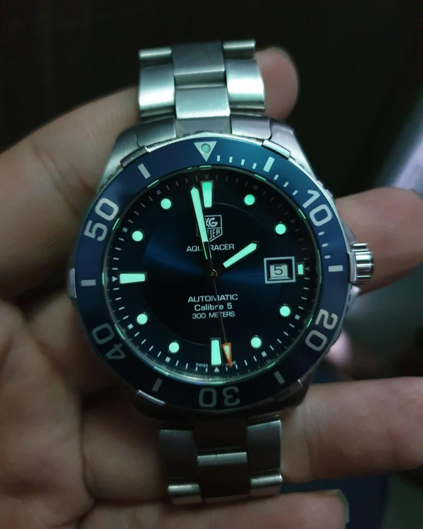 tag heuer aquaracer negotiable for fast deal
