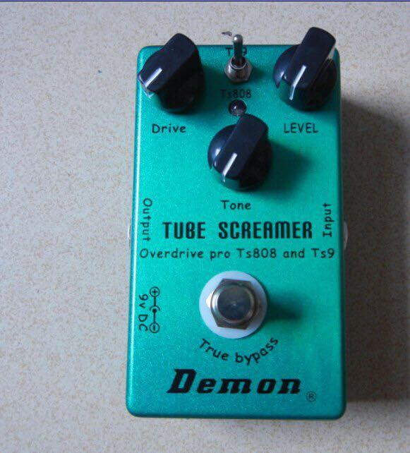 Tube Screamer Overdrive - Classic TS9 and TS808, Perfect Upgraded overdrive, 2 in 1 pedal.