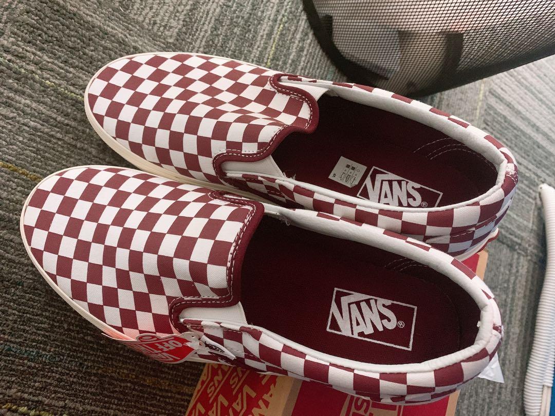 Vans Slip On Checkerboard - NEW