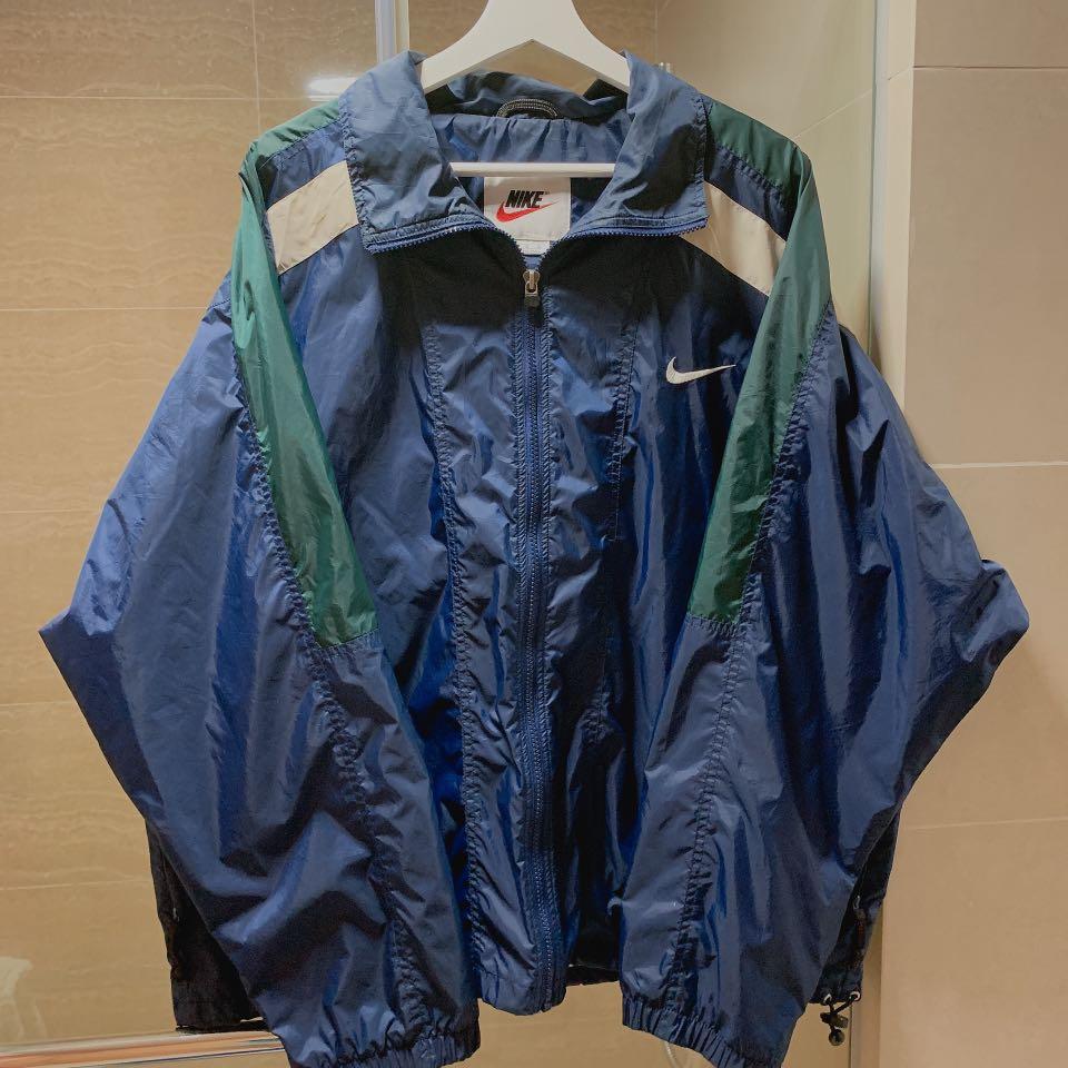 Vintage NIKE jacket Windbreaker navy