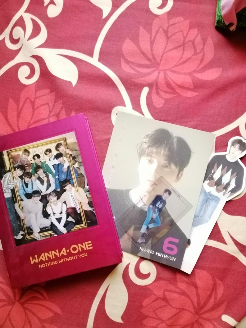 WANNA ONE NOTHING WITHOUT YOU ALBUM ONE VER. MINHYUN SET + POSTER