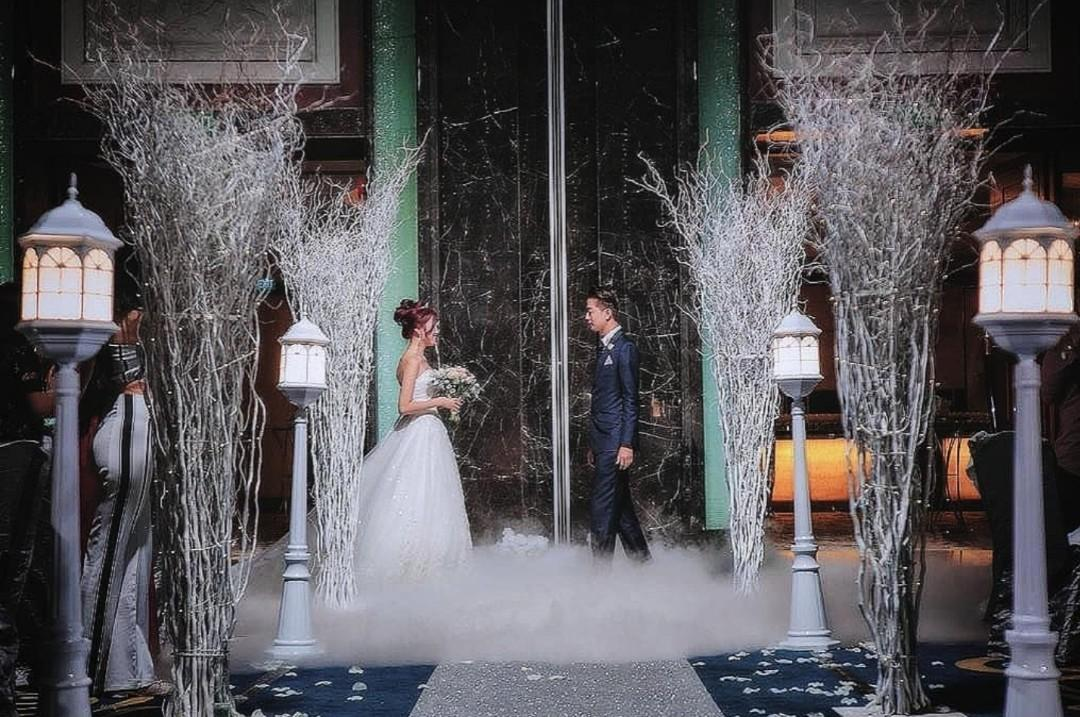Wedding Decoration at Ritz Carlton Hotel
