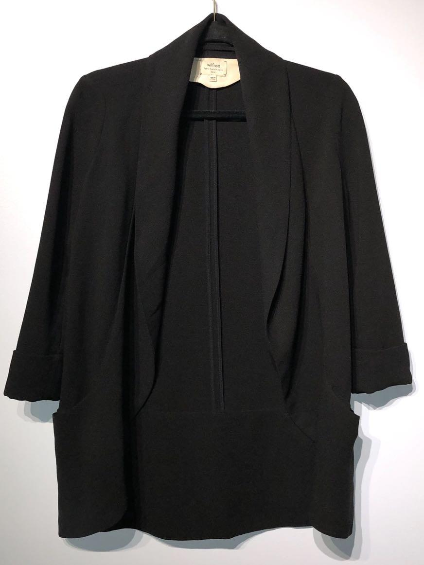 Wilfred Chevalier Black Jacket Size 0