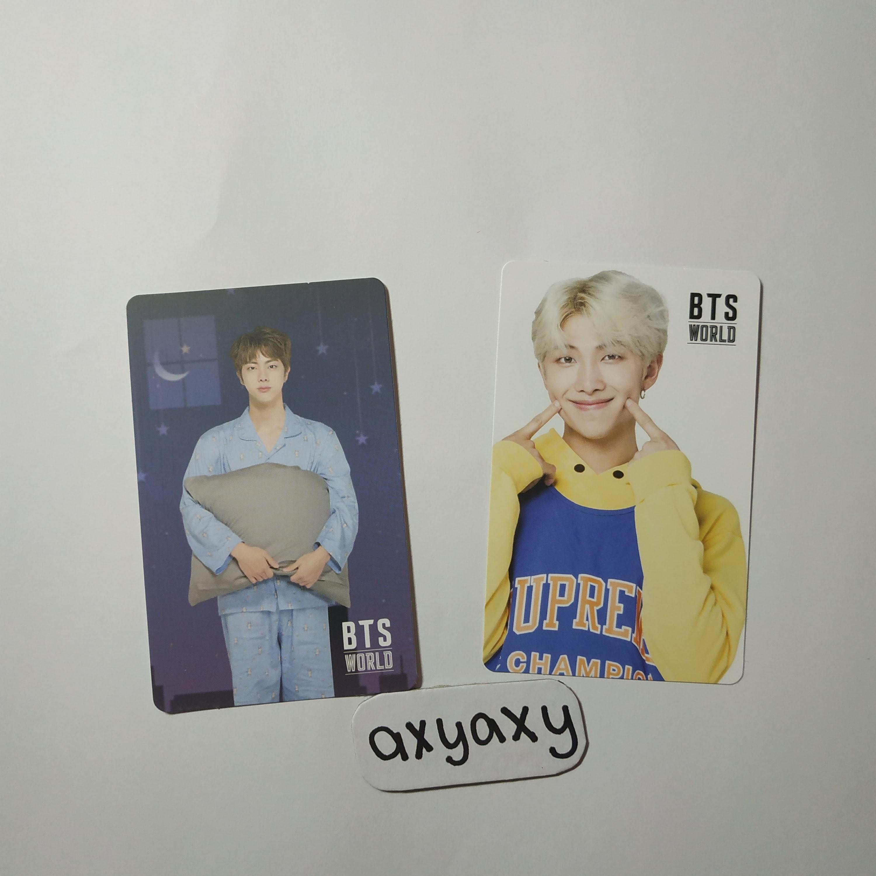 WTS] BTS OST Original Soundtrack Album Photocards on Carousell