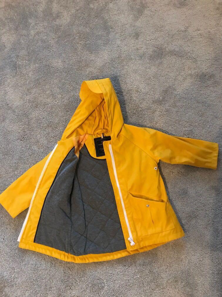 Zara lined raincoat