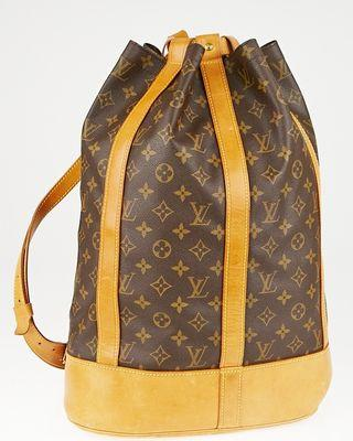 Authentic Louis Vuitton Randonne GM Monogram