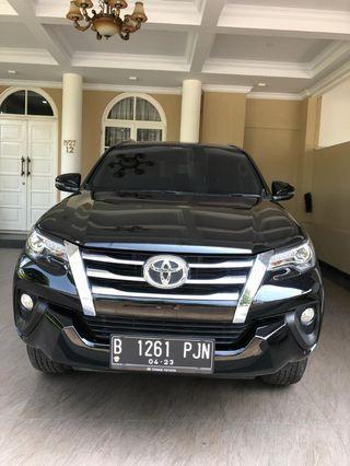 Mobil Toyota Fortuner VRZ diesel 2018, km 11rb, pajak panjang
