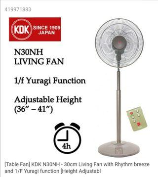 Brand new Kdk fan with remote N30NH