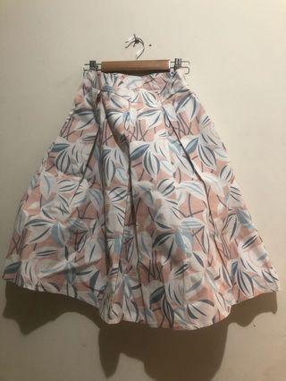🚚 正韓 Shin 粉色花卉裙