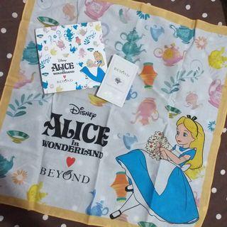 Handkerchief Alice in the Wonderland