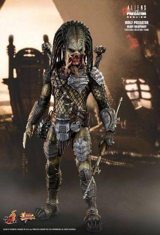 Hot Toys - MMS443 - Alien vs. Predator: Requiem - 1/6th scale Wolf Predator (Heavy Weaponry) Collectible Figure
