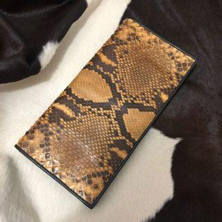 Real snake (Python) long wallet