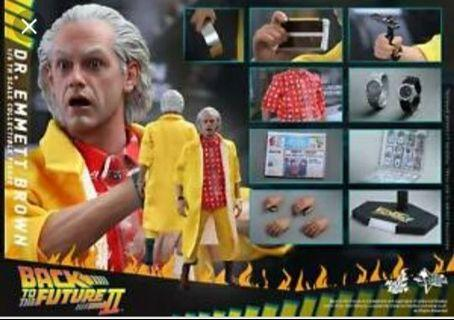 [INSTOCK] MMS 380 BACK TO THE FUTURE II DR EMMETT BROWN 1/6 SCALE FIGURE NORMAL VERSION [LAST]