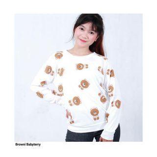 Sweater Putih Brownie