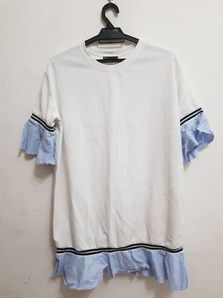 Zara shift dress / long top