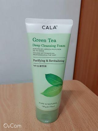 綠茶深層洗面乳