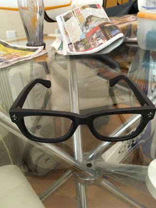 木框眼鏡(黑色)