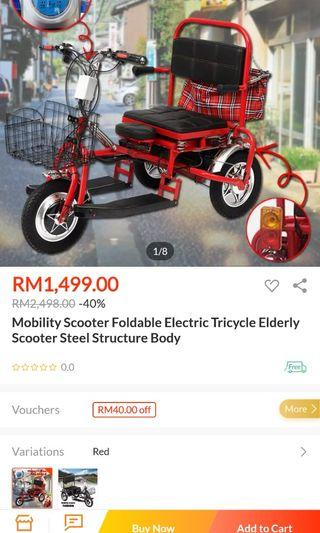Disabled bike