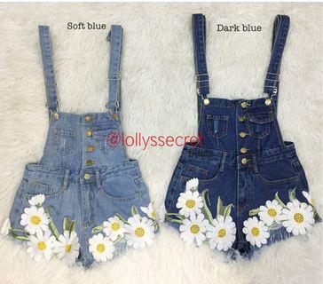 Flower jumpsuit mini