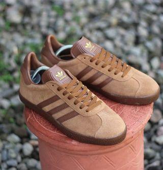 Adidas gazzele brown gum
