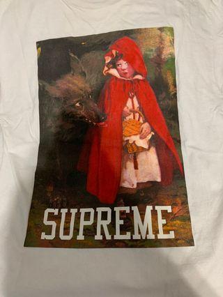 Supreme 小紅帽大野狼t