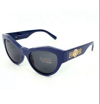 全新 VERSACE Rock Icon Sunglasses Cat Eye 太陽眼鏡