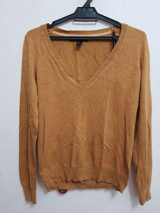 Forever21 Brown Pullover