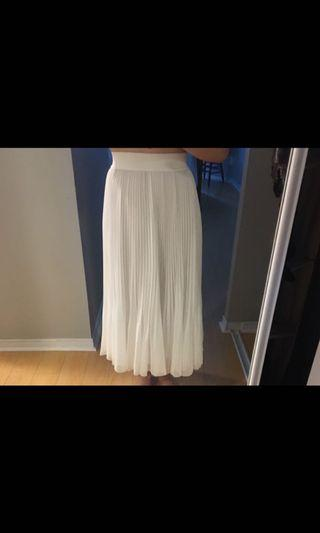 Wilfred white skirt