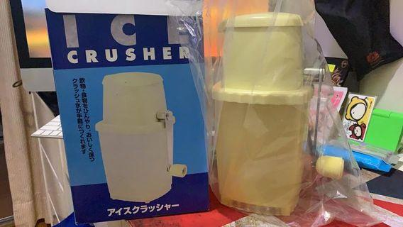 Ice crusher 刨冰機