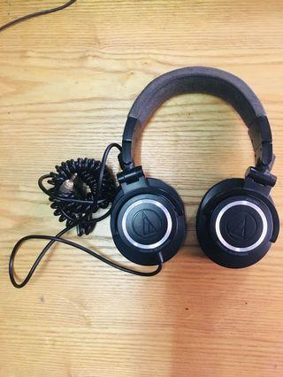 (PRICE REDUCED) AUDIOTECHNICA ATH-M50 MONITOR HEADPHONE